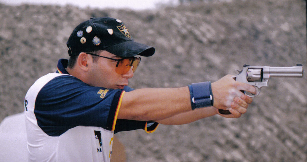 IPSC Revolver World Champion Ricardo_López Tugendhat from Ecuador