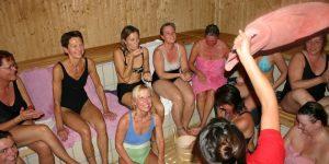 Dame saunagus Herning @ Herning Svømmehal