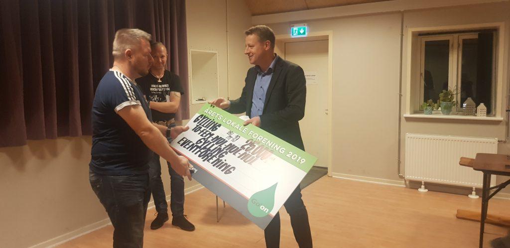 Gylling Eventforening er Årets Lokale Forening i Region Midtjylland