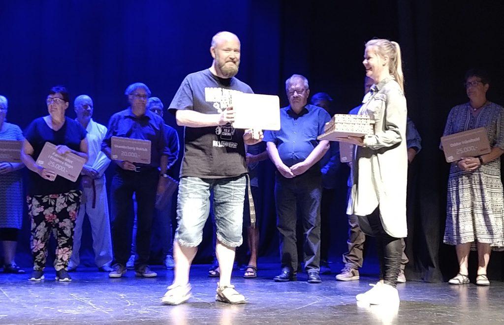 Gylling Kulturforening modtog stor støtte fra AURA Energis Corona-hjælpepakke