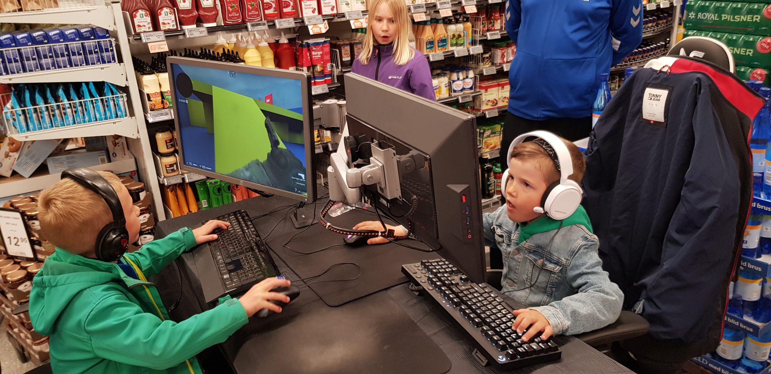 Gylling eSport spillede Counter-Strike mellem dagligvarer