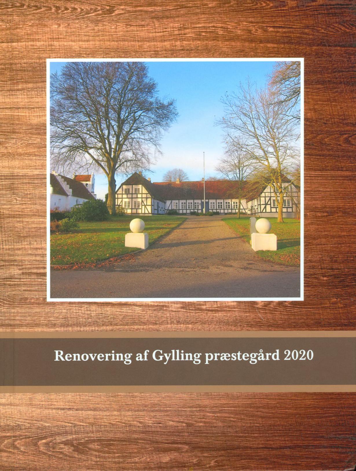 Renovering af Gylling præstegård 2020