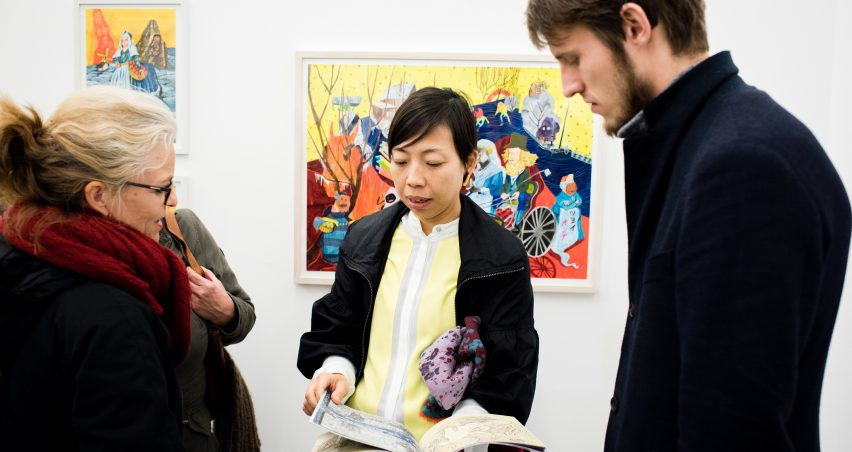 Hilde Huisman - Opening H47 tijdens culturele hoofdstad 2018 , kunstruimte H47 in Leeuwarden voor exposities en tentoonstellingen van beeldende kunst.