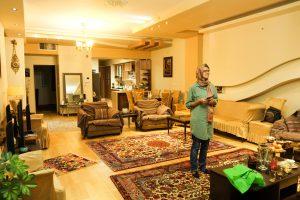 Iranian family's home