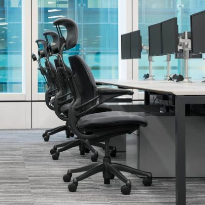 humanscale freedom chair - office high back executive chair - office chair in karachi