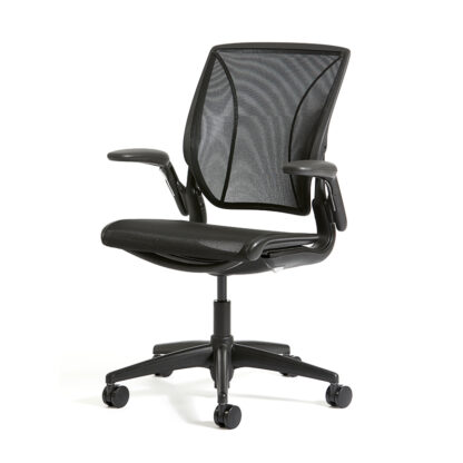 humanscale world one task chair - office mid-back staff chair -mesh back - office chair in karachi