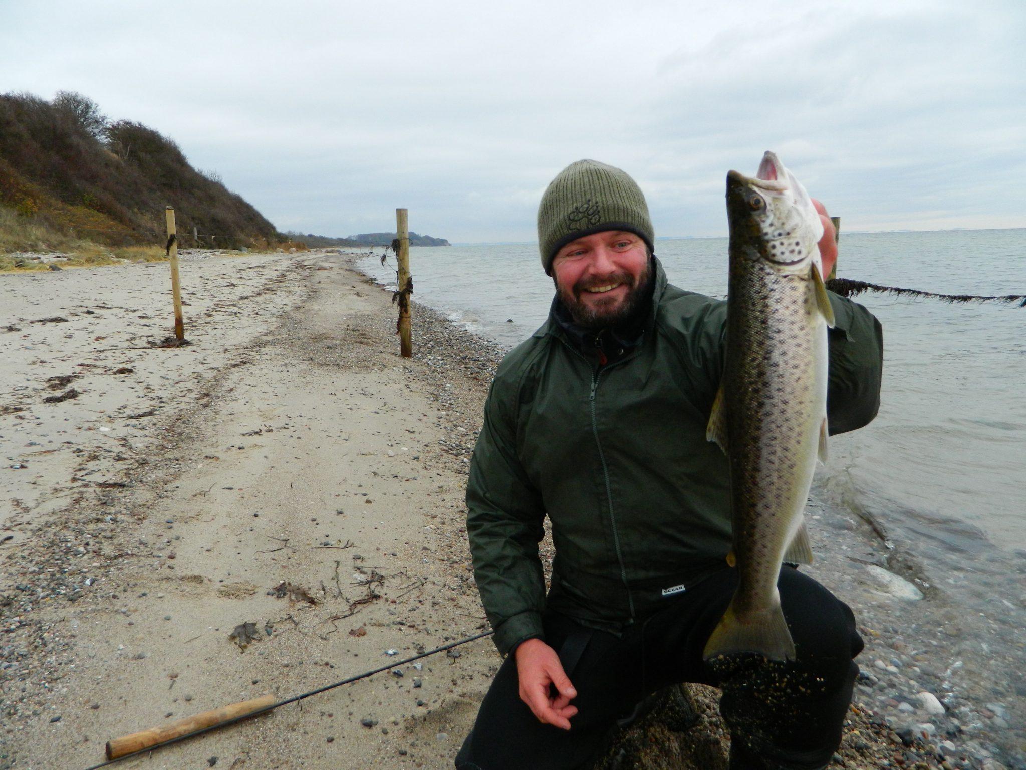 Lystfiskeri ved Halk Strand