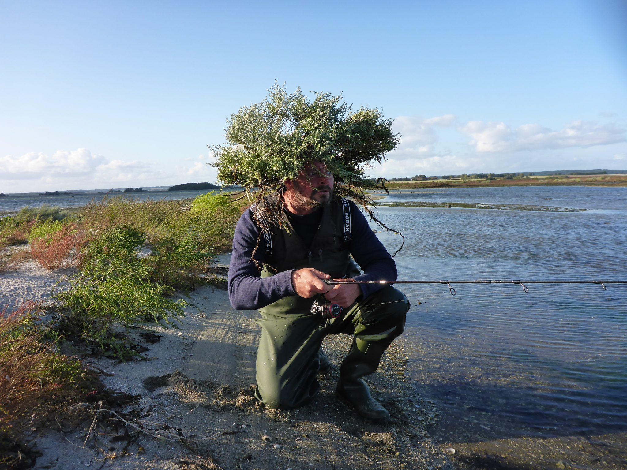 Er det vigtigt at camouflere sig under lystfiskeri.