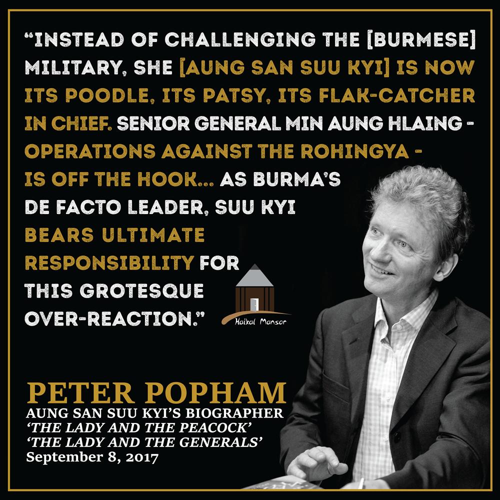 Peter Popham – Aung San Suu Kyi's Biographer