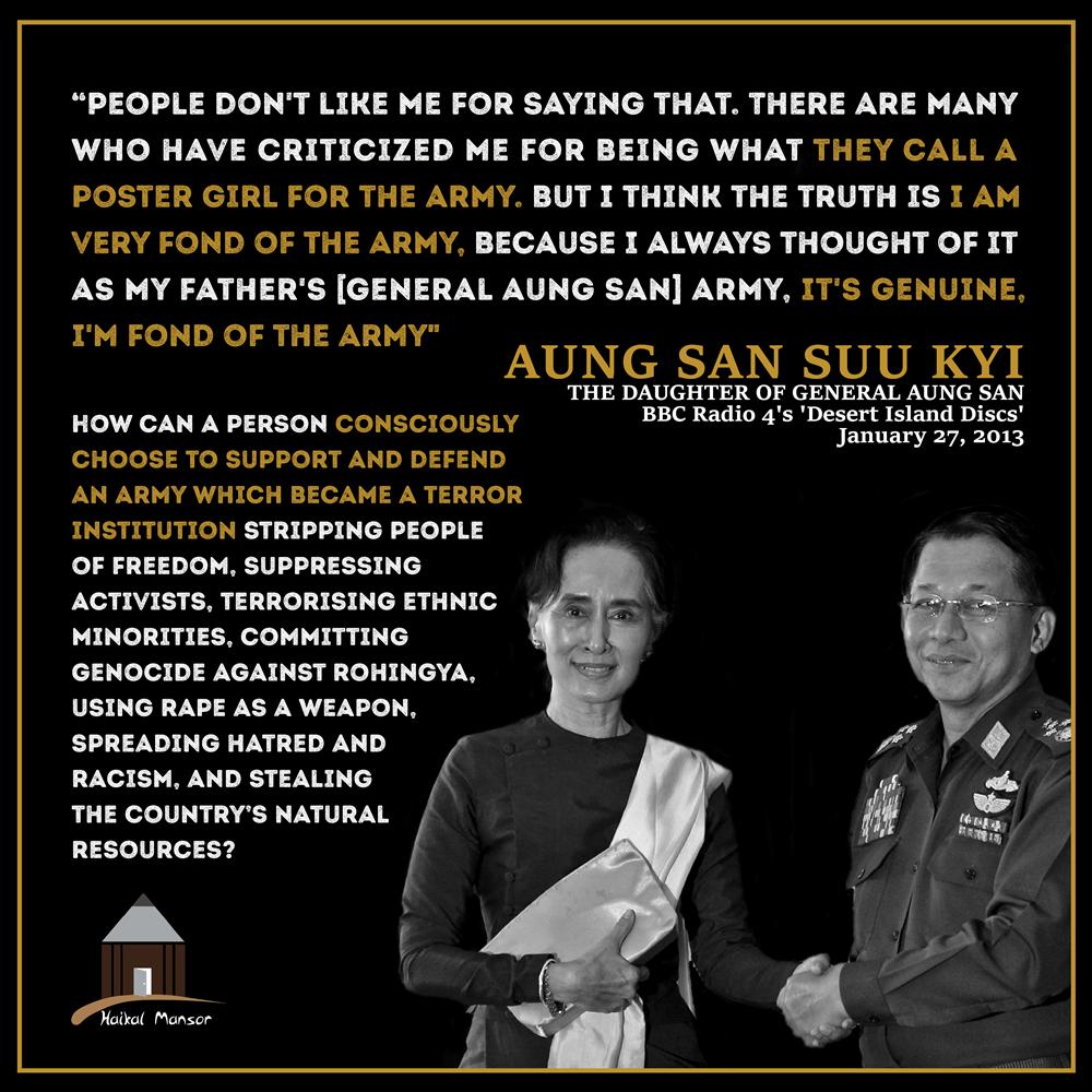 Aung San Suu Kyi – 'Poster Girl'
