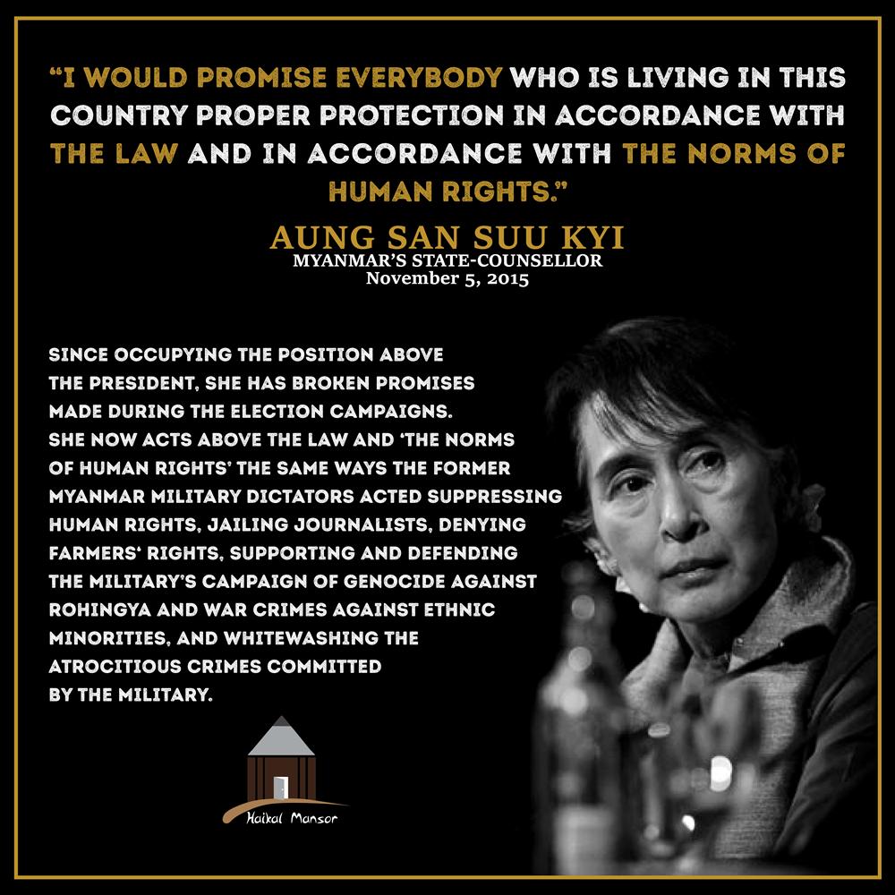 Aung San Suu Kyi – 'Promise'