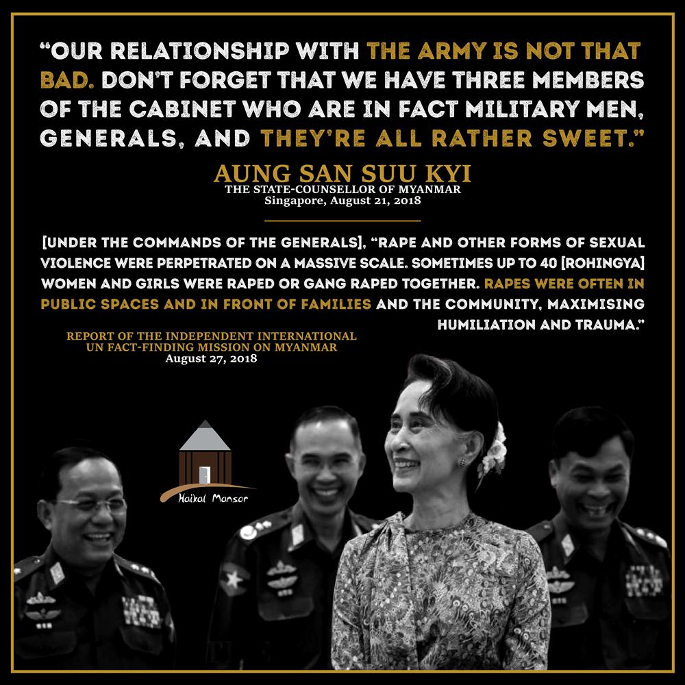 Aung San Suu Kyi – 'Sweet Generals'