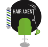 Kapsalon Hair Axent Logo