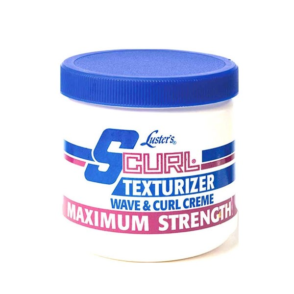 max strength scurl relaxer jar