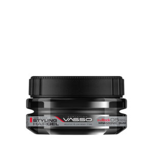 Vasso Styling Hair Gel Mnemonic Gum The Rock 250 ml