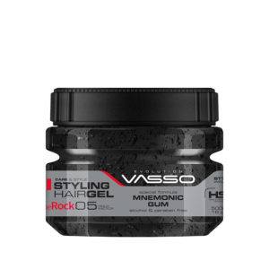 Vasso Styling Hair Gel Mnemonic Gum The Rock 500 ml