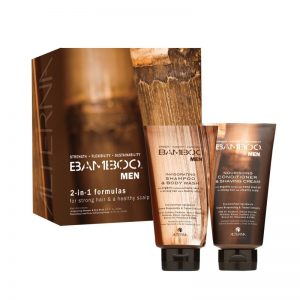 Alterna Bamboo Men 2-in-1 Formula Box Set Shampoo & Body Wash en Conditioner & Shaving Cream 2 x 250 ml