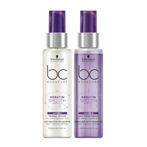 Schwarzkopf BC Bonacure Keratin Smooth Perfect Duo Layering & Double Phase 2 x 100 ml