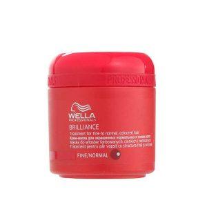 Wella Brilliance Masker voor fijn tot normaal gekleurd haar 150 ml