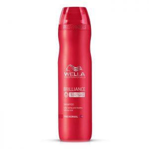 Wella Brilliance Shampoo voor fijn tot normaal gekleurd haar 250 ml