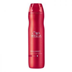 Wella Brilliance Shampoo voor weerbarstig gekleurd dik haar 250 ml
