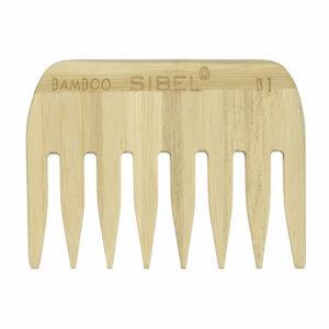 Sibel Bamboe Afrokam Antistatisch 9 cm