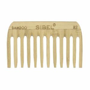 Sibel Bamboe Afrokam Antistatisch 10.2 cm