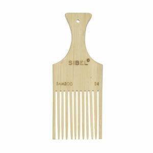 Sibel Bamboe Afrokam Antistatisch 17.8 cm