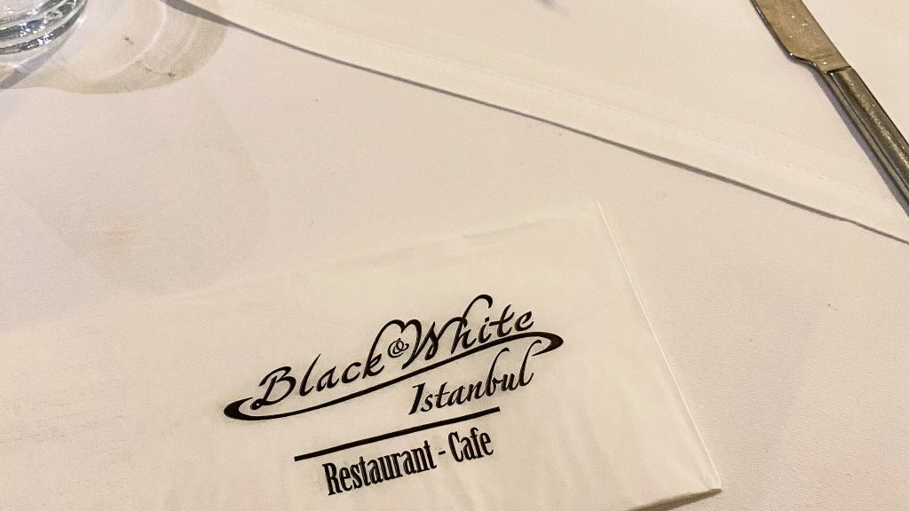Black and White Istanbul Restaurant Berlin