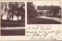 Berg kirke og Prestegård