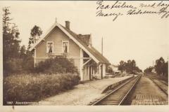 Aspedammen stasjon