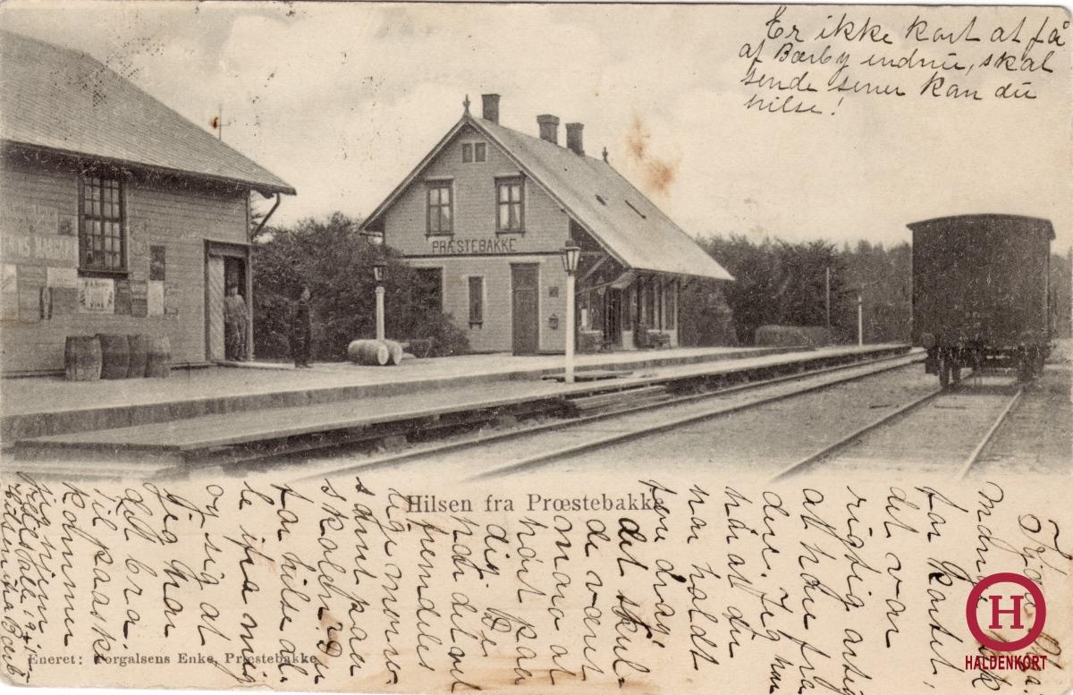 Prestebakke stasjon