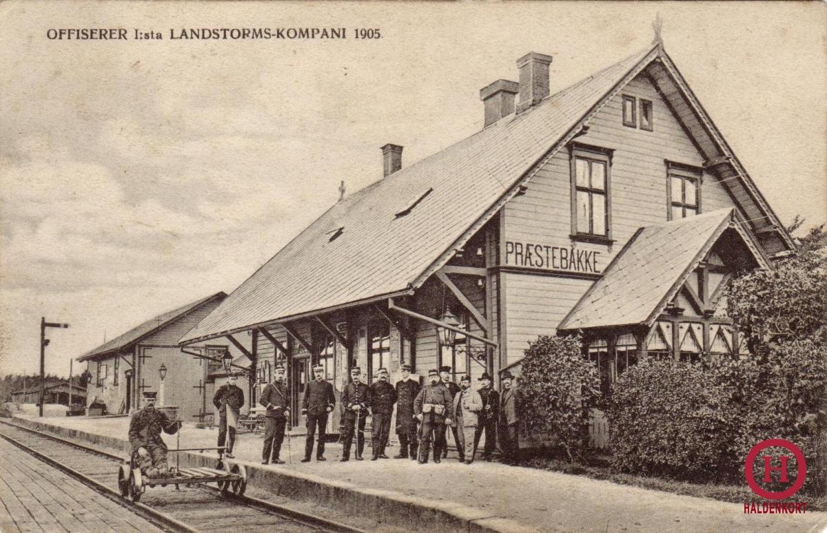 Prestebakke stasjon - 1905