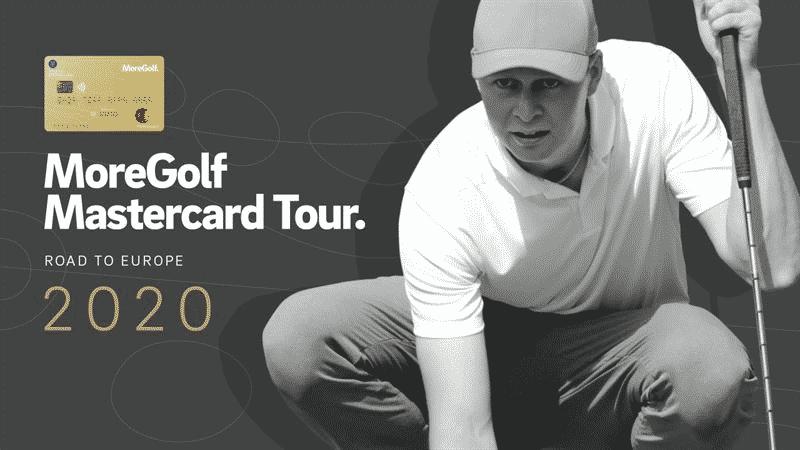 MoreGolf Mastercard sponsrar den svenska herrtouren i golf