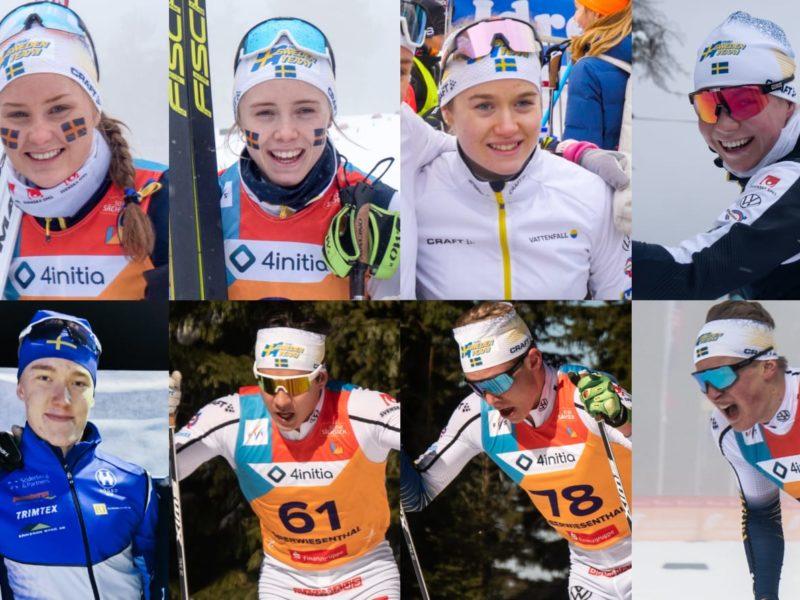 8 st åkare utgör nya Team Svenska Spel Junior