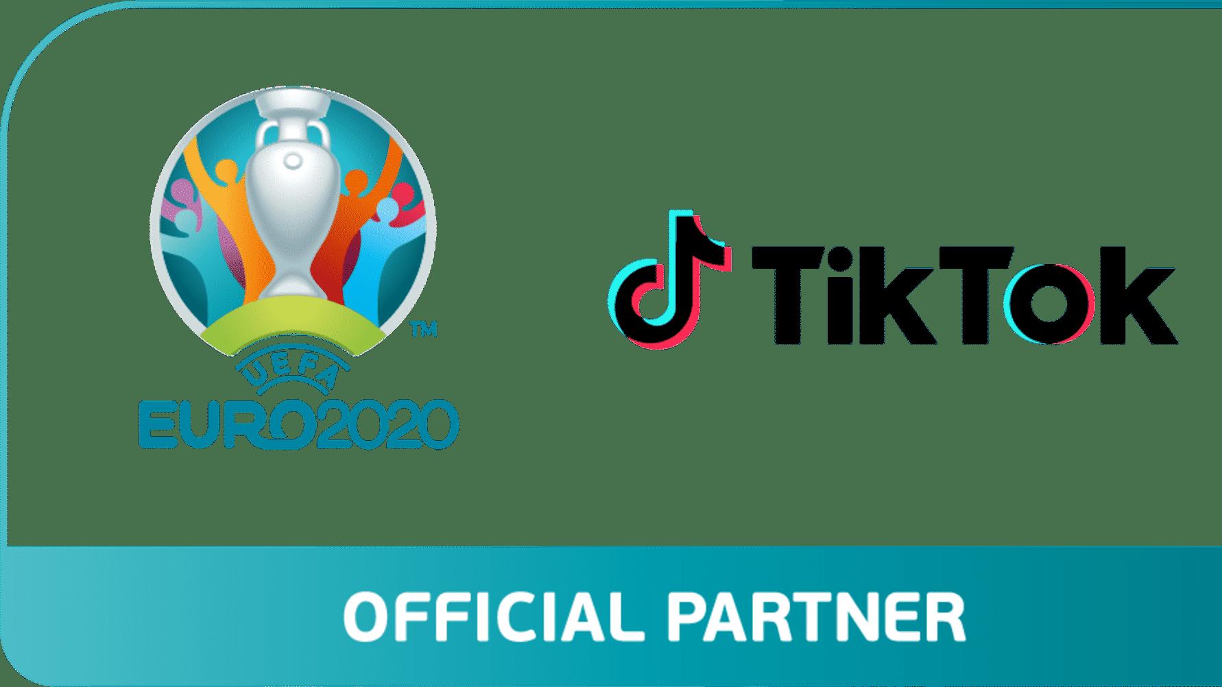 TikTok sponsring fotbolls-EM