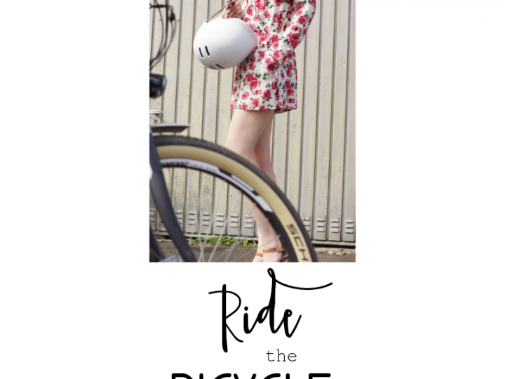 Ride the bicycle // Fahrrad Outfit