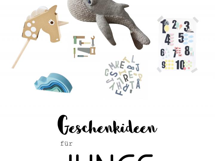Geschenkidee // GESCHENKIDEEN FÜR JUNGS