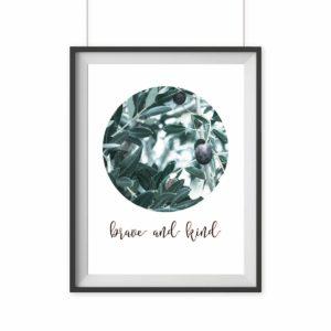 artprint poster olive geschenk freunde