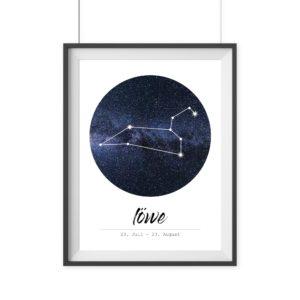 Sternzeichen Löwe Geschenk
