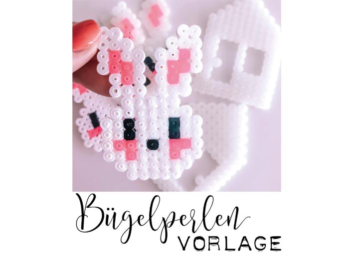 Bügelperlen Vorlage Osterhase // free download