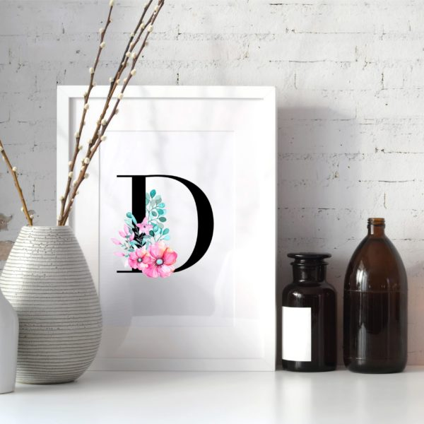 Geschenk Wanddekoration Print