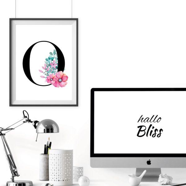 Geschenk Dekoration blogger Artprint