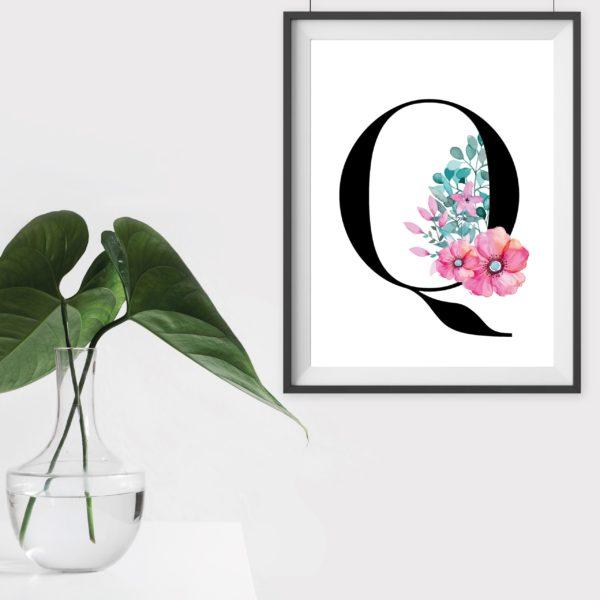 Geschenk Dekoration Artprint