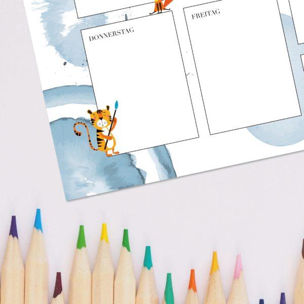 Schreibtisch Einschulung Kind schule Geschenk hausaufgaben