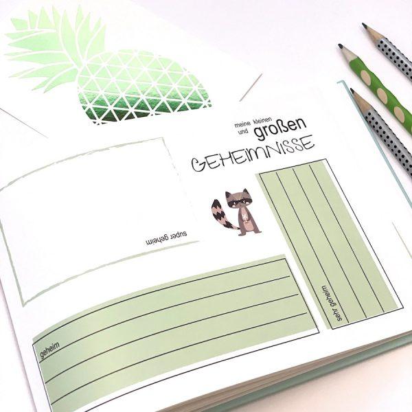 Kindertagebuch Geschenk Schule Einschulung