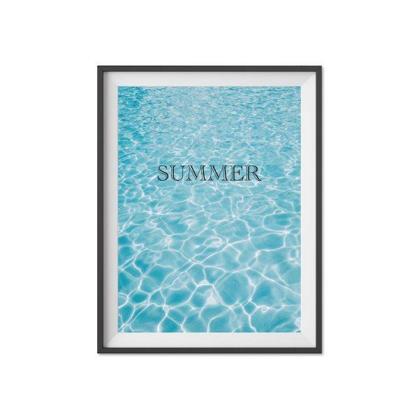 poster Sommer geschenk