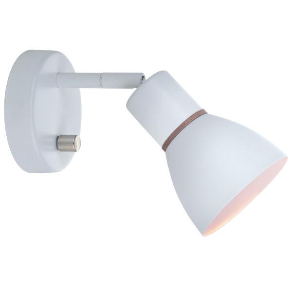 angora væglampe i hvid