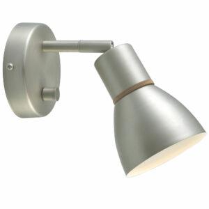 angora væglampe i stål