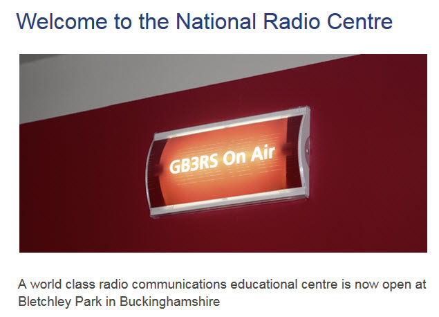 GB3RS on the air